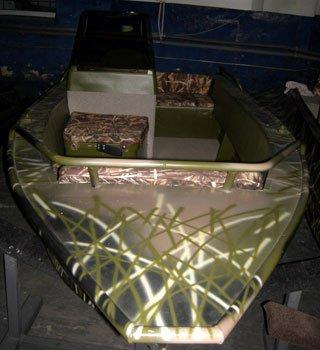 ВЕЛЬБОТ – цельносварная алюминиевая лодка