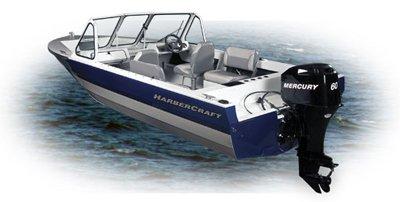 Harbercraft 1725 Adventurer, моторная лодка, заказть