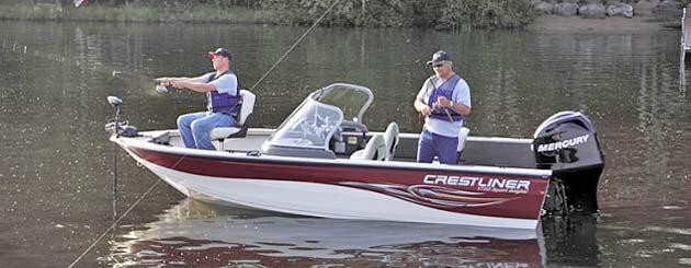 лодка Crestliner Sport Angler 1750 фото 1