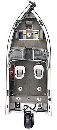 лодка Crestliner Sport Angler 1750 фото 2