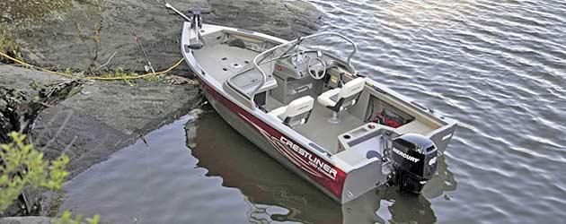 лодка Crestliner Canadian 1650 фото 1