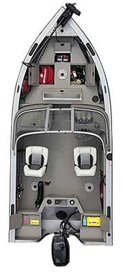 лодка Crestliner Canadian 1650 фото 2