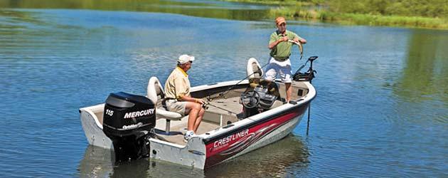 лодка Crestliner Fish Hawk 1750 SC фото1
