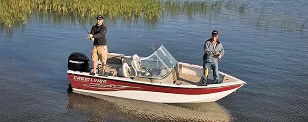 лодка Crestliner Sport Angler 1650 фото 1