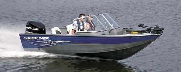лодка Crestliner Super Hawk 1700 фото 1