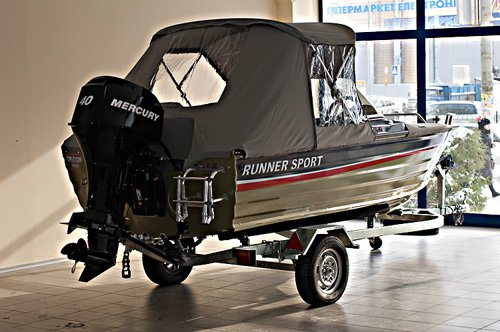 Лодка Runner Sport 430WTF (ALL FISH)