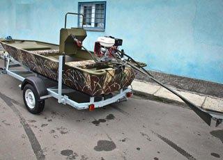 Лодка мотор godevil трейлер