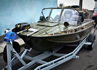 продажа лодки Казанка 5М4