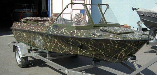 Моторная лодка Крым, тюнинг, продажа