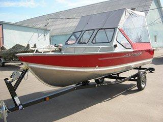 Тюнингованная лодка LUND SSV 16
