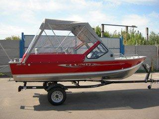 Тюнингованная лодка