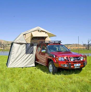 Туристическая палатка на крышу Simpson III фото 1